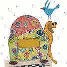 Bird•Dog by MerryCox-Art