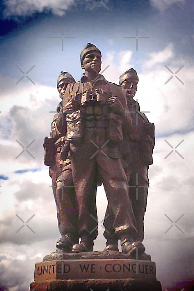 Commando Monument  by Catherine Hamilton-Veal  ©