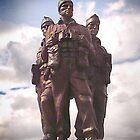 Commando Monument  by Catherine Hamilton-Veal  ©
