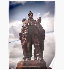 Commando Monument  Poster