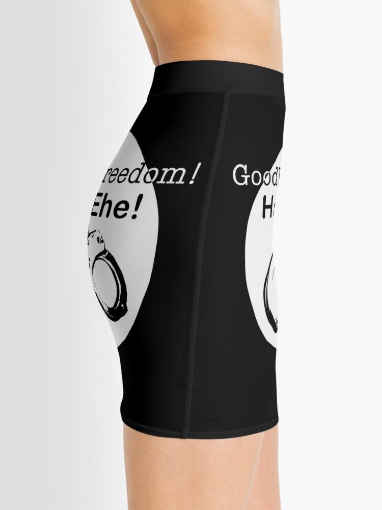 Alternate view of Goodbye Freedom Hello Marriage (w) Mini Skirt