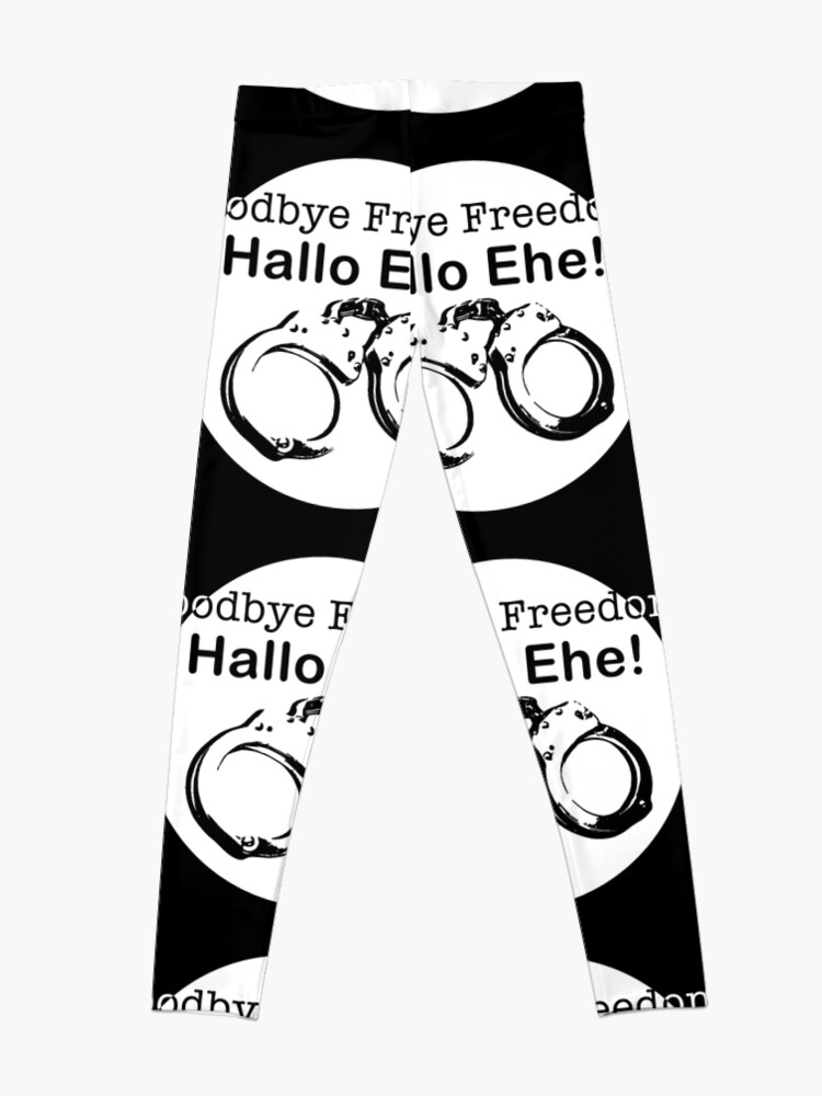 Alternate view of Goodbye Freedom Hello Marriage (w) Leggings