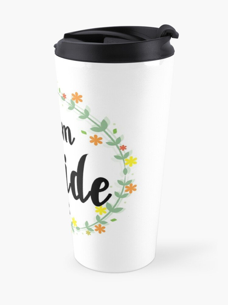 Alternate view of TEAM BRIDE V1 (b) Travel Mug
