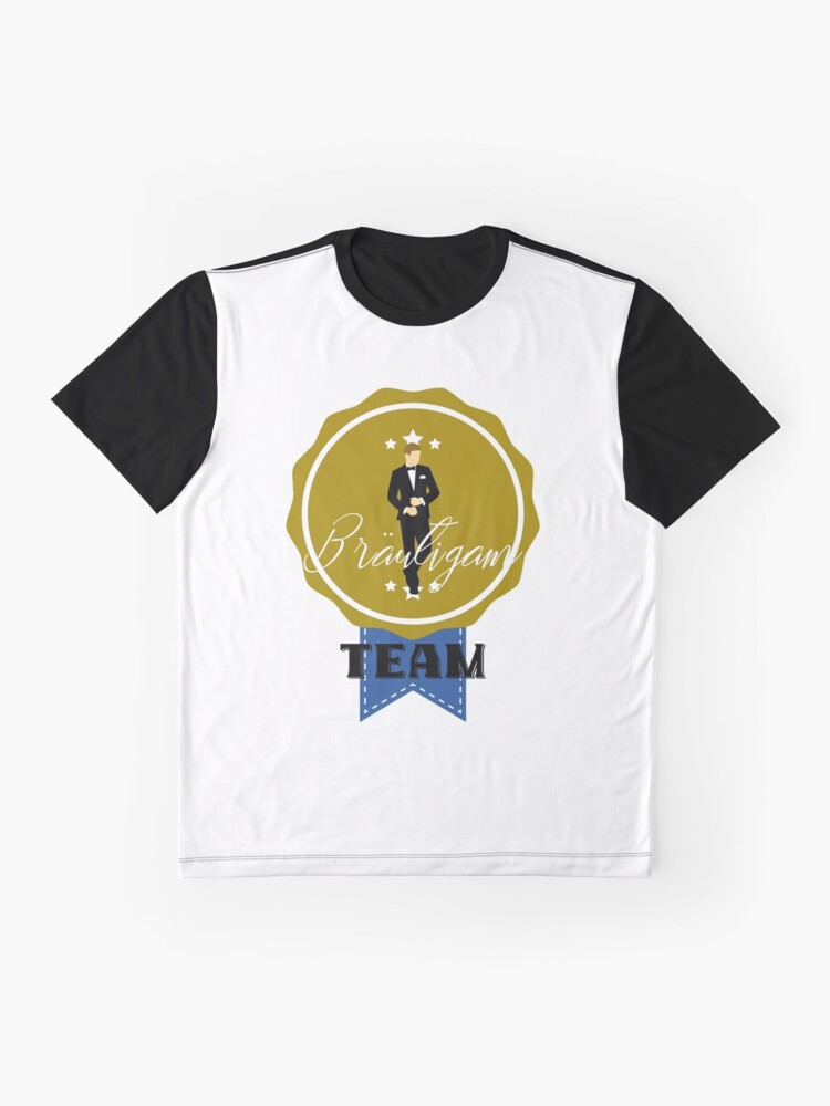 Alternate view of TEAM GROOM (b) Graphic T-Shirt