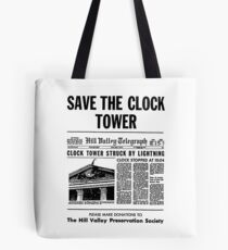 Save the Clocktower Tote Bag
