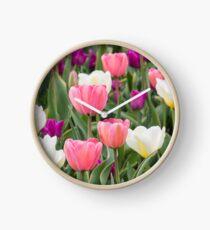 Pastel Field Clock