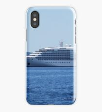 On the blue waves iPhone Case/Skin