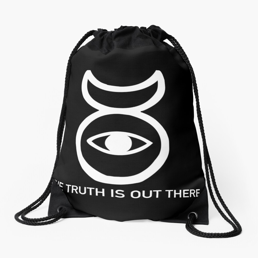 THE TRUTH IS OUT THERE (w) Drawstring Bag