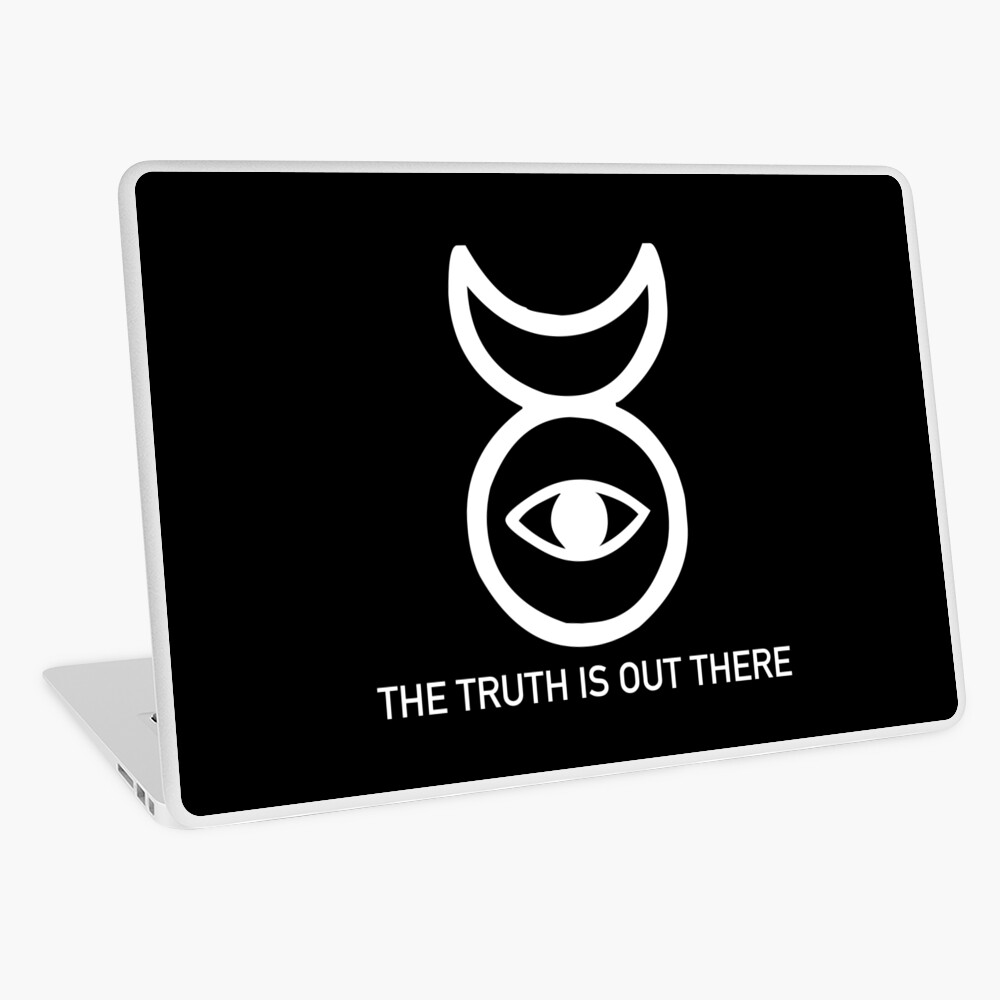 THE TRUTH IS OUT THERE (w) Laptop Skin