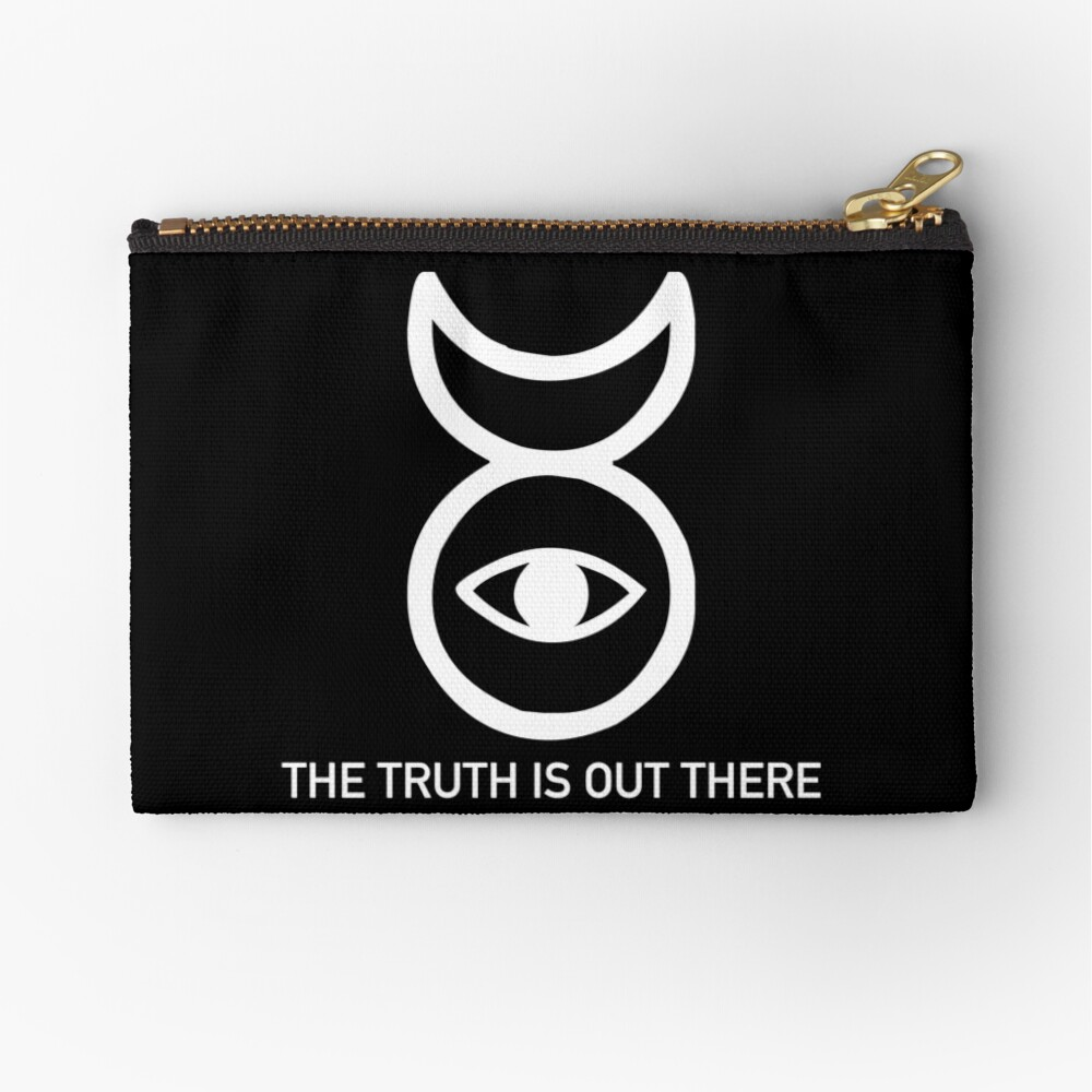 THE TRUTH IS OUT THERE (w) Zipper Pouch