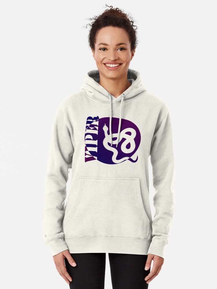 Alternate view of VIPER PURP STYLE (colored) Pullover Hoodie