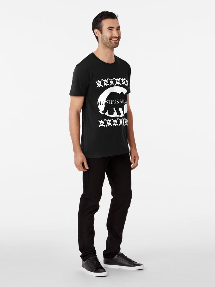 Alternate view of HIPSTERSAURUS (w) Premium T-Shirt