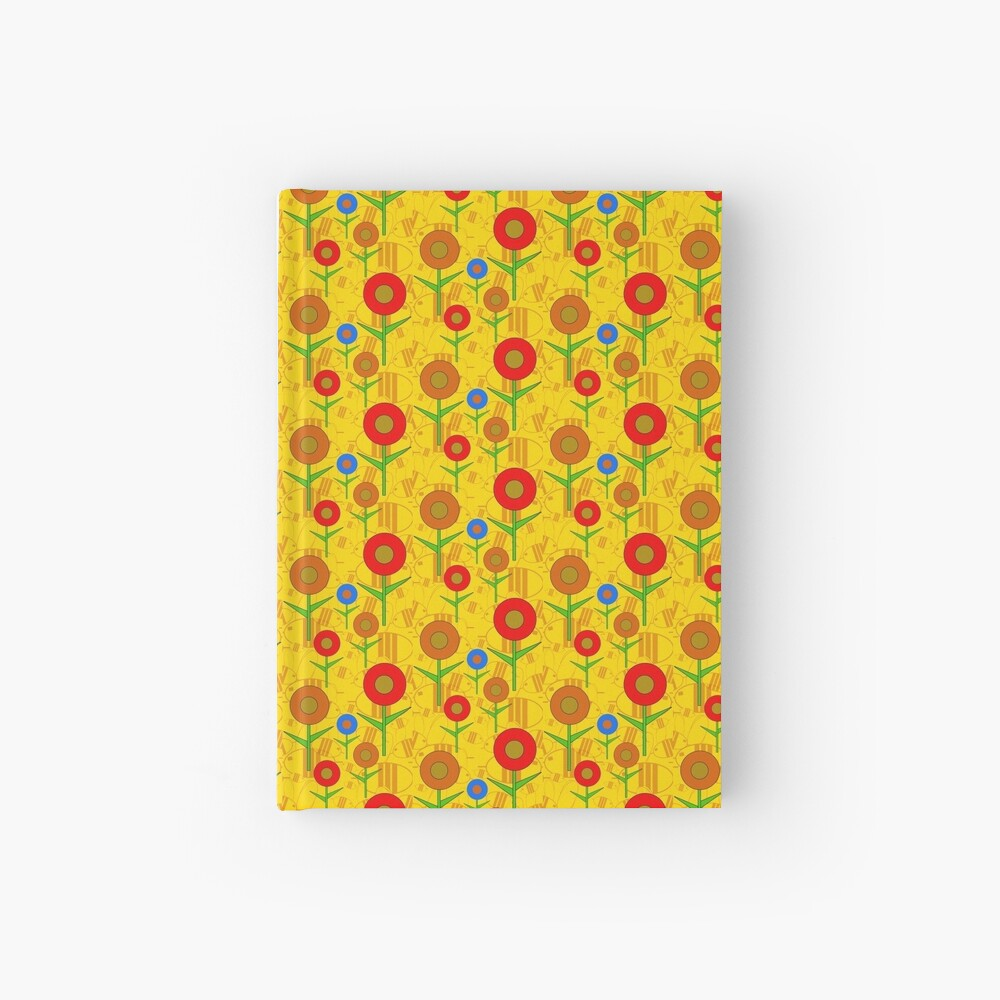 Busy Bees With FLowers Hardcover Journal