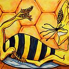 Drunken Wasp by Rachelle Dyer