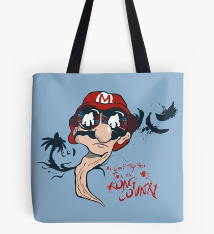 Fear and Loathing in the Mushroom Kingdom Tote Bag