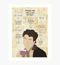 Would you not have a cup of tea? Art Print
