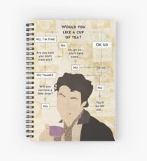 Would you not have a cup of tea? Spiral Notebook
