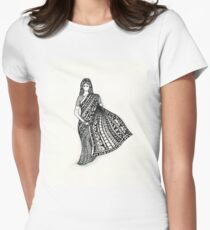 sari Womens Fitted T-Shirt