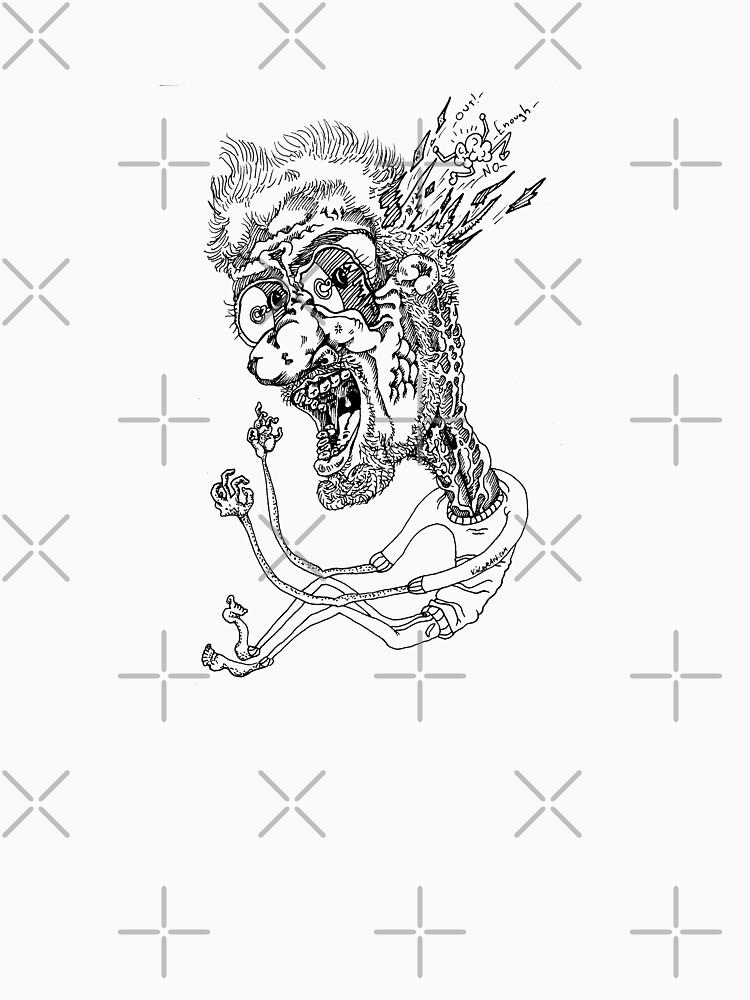 Brain Out Ink Graffiti Style Character by kikoeart