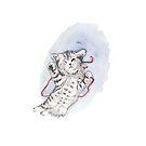 Cute Kitten by Belinda Muir