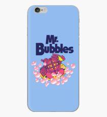 Mr. Bubbles iPhone Case