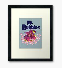 Mr. Bubbles Framed Print