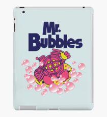 Mr. Bubbles iPad Case/Skin