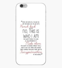 Once Upon a Time - Emma Swan Quote Red iPhone Case