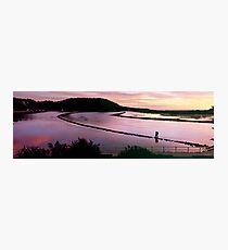 Sunrise Colours  -  Wagonga Inlet Photographic Print