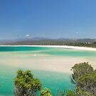 Bar Beach Merimbula by Brett Thompson