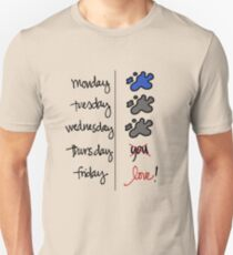 FRIDAY I'm in love! T-Shirt