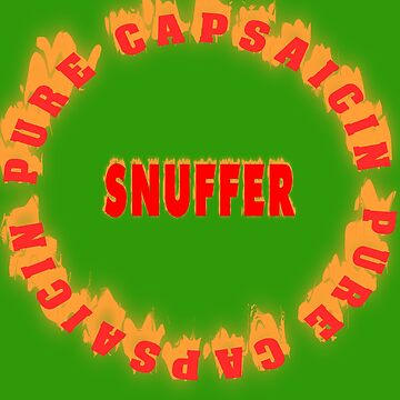 Pur Capsaicin Snuff. Chile Head! by Live-Counter