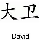 david in chines by petesgirl