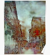 Streets of Quebec City  Poster