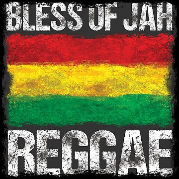 bless of jah - dein neues Raggae-Shirt, der Festivalsommer kann kommen! von Periartwork