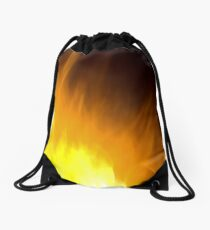 Fire Art Drawstring Bag