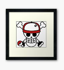 Red pirate 1 Framed Print