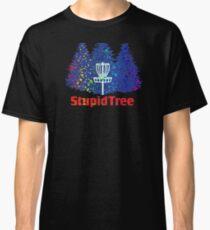 Disc Golf Rainbow Blue Classic T-Shirt