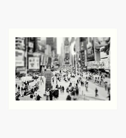 On Times Square  Art Print