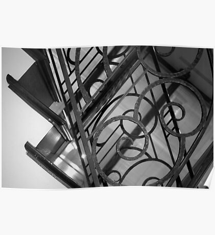 Staircase n°1 Poster