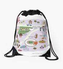 Allen Texas Drawstring Bag