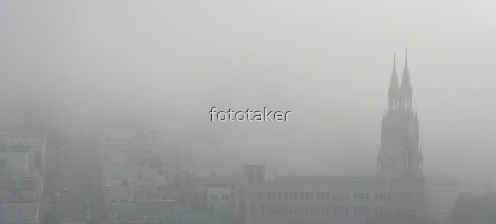 Saints Peter and Paul in the fog by fototaker