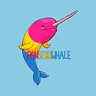 Pansexuwhale - with text by Kirstendraws