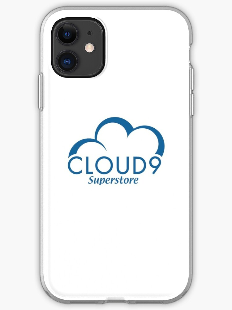 Cloud 9 logo iphone case