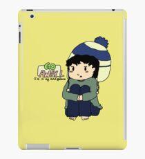 Teen Sherlock - Go Away! I'm in my mind palace! iPad Case/Skin