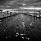 Shorncliffe Pier #2 by RONI PHOTOGRAPHY
