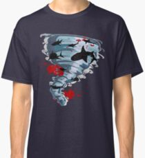 Shark Tornado - Science Fiction Shark Movie - Shark Attack - Shark Tornado Oh Hell No - Sharks! Classic T-Shirt