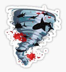 Shark Tornado - Science Fiction Shark Movie - Shark Attack - Shark Tornado Oh Hell No - Sharks! Sticker