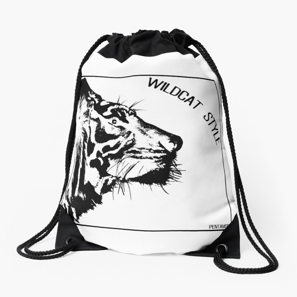 WILDCAT STYLE (b) Drawstring Bag