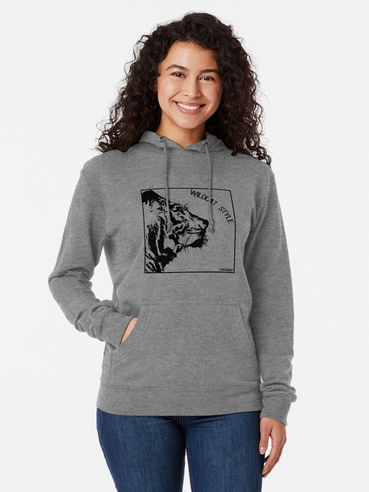 Alternate view of WILDCAT STYLE (b) Lightweight Hoodie